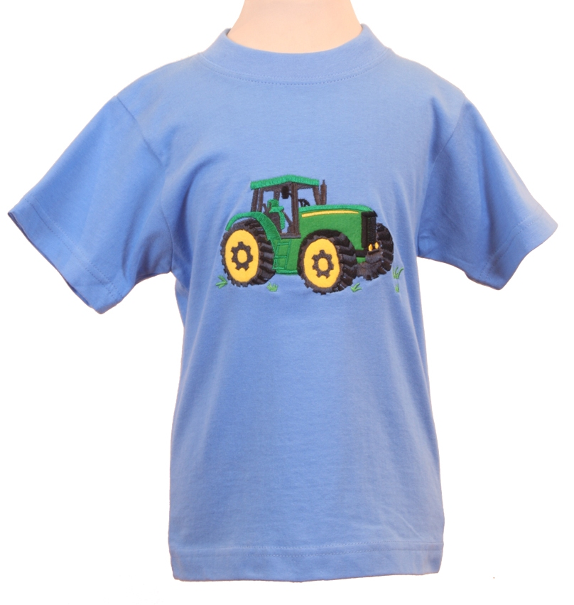 Tractor Shirts And Hats : Green tractor t shirt hunting stock market