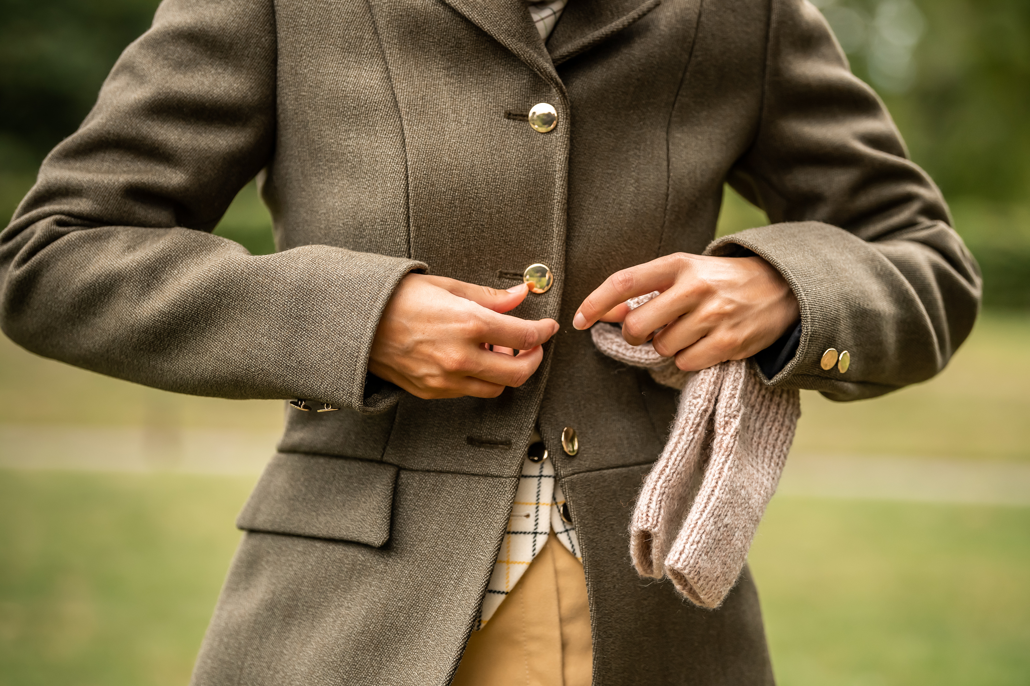 Womens Tweed Field Coat   Thinford Saddlery